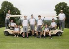 Highland Rebels Boys Varsity Golf Fall 18-19 team photo.