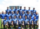 Bismarck Lions Boys Varsity Football Fall 18-19 team photo.