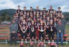 Neah Bay Red Devils Boys Varsity Football Fall 18-19 team photo.