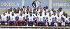 Osceola Seminoles Boys Varsity Football Fall 18-19 team photo.