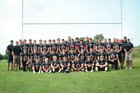 Arcadia/Loup City Rebels Boys Varsity Football Fall 18-19 team photo.