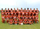 Lennard Longhorns Boys Varsity Football Fall 18-19 team photo.