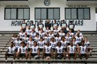 Bearden Bears Boys Varsity Football Fall 18-19 team photo.