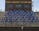 Huntingdon Mustangs Boys Varsity Football Fall 18-19 team photo.
