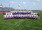Rochelle Hubs Boys Varsity Football Fall 18-19 team photo.