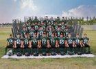 St. John Woodchucks Boys Varsity Football Fall 18-19 team photo.