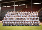 WF West Bearcats Boys Varsity Football Fall 18-19 team photo.