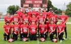 Harvard Cardinals Boys Varsity Football Fall 18-19 team photo.