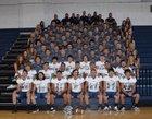 Abingdon Falcons Boys Varsity Football Fall 18-19 team photo.
