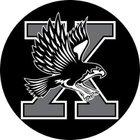 Xavier Falcons Boys Varsity Football Fall 18-19 team photo.