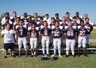 Rolling Hills Prep Huskies Boys Varsity Football Fall 18-19 team photo.