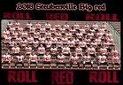 Steubenville Big Red Boys Varsity Football Fall 18-19 team photo.