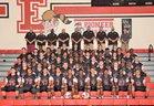Elyria Pioneers Boys Varsity Football Fall 18-19 team photo.