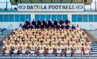 Dacula Falcons Boys Varsity Football Fall 18-19 team photo.