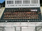 Sylvania Rams Boys Varsity Football Fall 18-19 team photo.