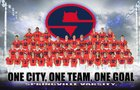 Springville Red Devils Boys Varsity Football Fall 18-19 team photo.