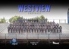 Westview Knights Boys Varsity Football Fall 18-19 team photo.