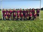 Clarkson/Leigh Patriots Boys Varsity Football Fall 18-19 team photo.