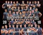 South Kitsap Wolves Boys Varsity Football Fall 18-19 team photo.