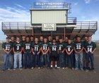 Animas Panthers Boys Varsity Football Fall 18-19 team photo.