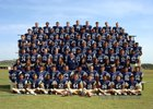 O'Connor Panthers Boys Varsity Football Fall 18-19 team photo.
