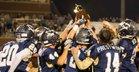 John Milledge Academy Trojans Boys Varsity Football Fall 18-19 team photo.