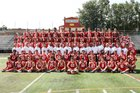 Bergen Catholic Crusaders Boys Varsity Football Fall 18-19 team photo.