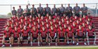 Poteau Pirates Boys Varsity Football Fall 18-19 team photo.