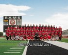 Mineral Wells Rams Boys Varsity Football Fall 18-19 team photo.