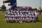 Palestine-Wheatley Patriots Boys Varsity Football Fall 18-19 team photo.