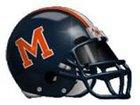 Mitchell Marauders Boys Varsity Football Fall 18-19 team photo.