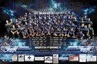 North Forney Falcons Boys Varsity Football Fall 18-19 team photo.