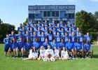 Mount St. Mary Rockets Boys Varsity Football Fall 18-19 team photo.
