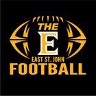 East St. John Wildcats Boys Varsity Football Fall 18-19 team photo.