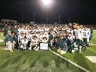 Cranston East Thunderbolts Boys Varsity Football Fall 18-19 team photo.