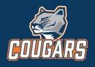 Gross Catholic Cougars Boys Varsity Football Fall 18-19 team photo.