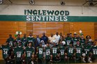 Inglewood Sentinels Boys Varsity Football Fall 18-19 team photo.