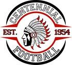 Centennial Apaches Boys Varsity Football Fall 18-19 team photo.