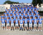 Rocklin Thunder Boys Varsity Football Fall 18-19 team photo.