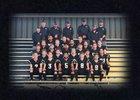 Quanah Indians Boys Varsity Football Fall 18-19 team photo.