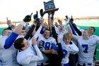 St. Paul Buckaroos Boys Varsity Football Fall 18-19 team photo.