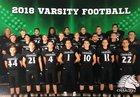 Arete Prep CHARGERS Boys Varsity Football Fall 18-19 team photo.