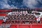 Grants Pirates Boys Varsity Football Fall 18-19 team photo.