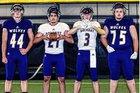 Dalhart Wolves Boys Varsity Football Fall 18-19 team photo.