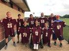 Eldon Mustangs Boys Varsity Football Fall 18-19 team photo.