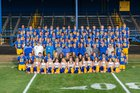 Ferndale Golden Eagles Boys Varsity Football Fall 18-19 team photo.