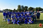 Tulelake Honkers Boys Varsity Football Fall 18-19 team photo.