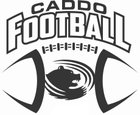 Caddo Bruins Boys Varsity Football Fall 18-19 team photo.