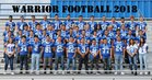 Socorro Warriors Boys Varsity Football Fall 18-19 team photo.