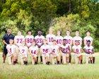 Harvest Community Warriors Boys Varsity Football Fall 18-19 team photo.